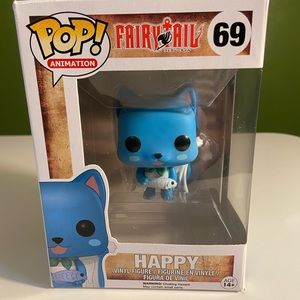 Fairytail, Happy POP figure.